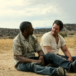 "Denzel Washington, left, and Mark Wahlberg star in Columbia Pictures' ""2 GUNS."" Courtesy Sony Pictures Releasing (Australia)"