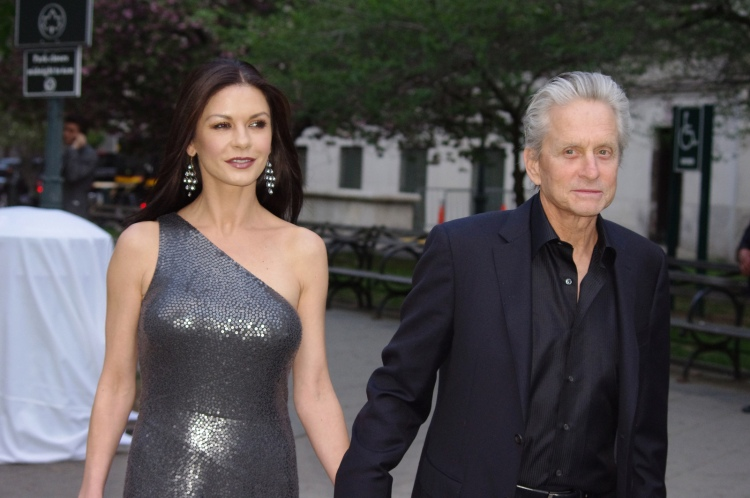 License  Catherine Zeta Jones Michael Douglas 2012 Shankbone   Attribution Some rights reserved by david_shankbone