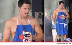 "Mark Wahlberg on the set of ""Pain and Gain"" License Attribution Some rights reserved by Hollywood_PR"