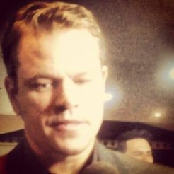 Matt Damon at Elysium Premiere, Sydney Photo by Joseph Rana