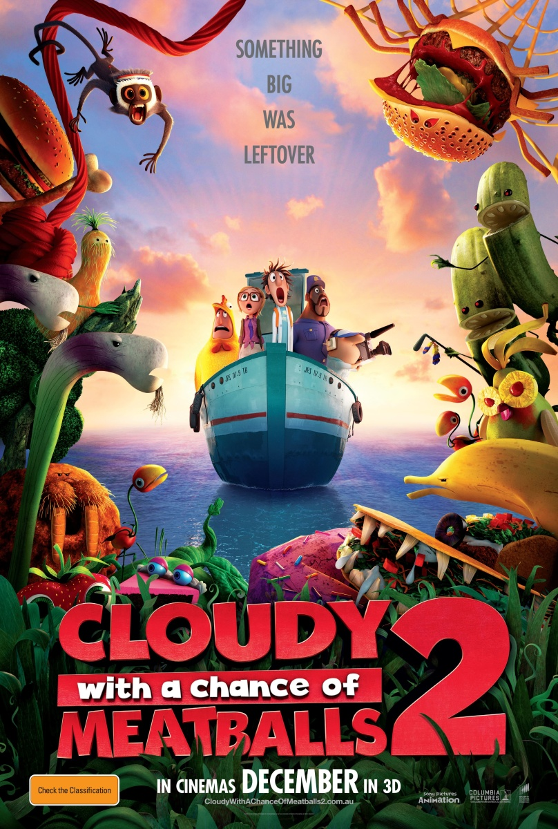 Cloudy with a Chance of Meatballs 2 - Preview, Synopsis and New Trailer