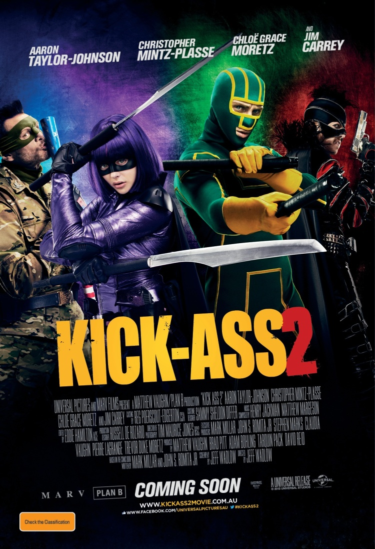 OFFCIAL POSTER - KICK-ASS 2