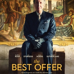 The Best Offer - Movie Poster courtesy Transmission Films