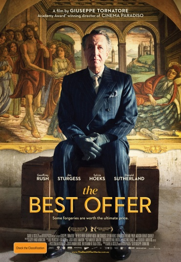 The Best Offer - Movie Poster courtesy Transmission Films