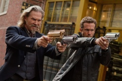 Ryan Reynolds and Jeff Bridges in a still from R.I.P.D. Courtesy Universal Pictures (Australia)