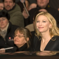 "Actress Cate Blanchett leaving the press conference for ""The Good German"" 57. Berlinale, Hyatt Hotel at Potsdamer Platz LicenseSome rights reserved by Siebbi"