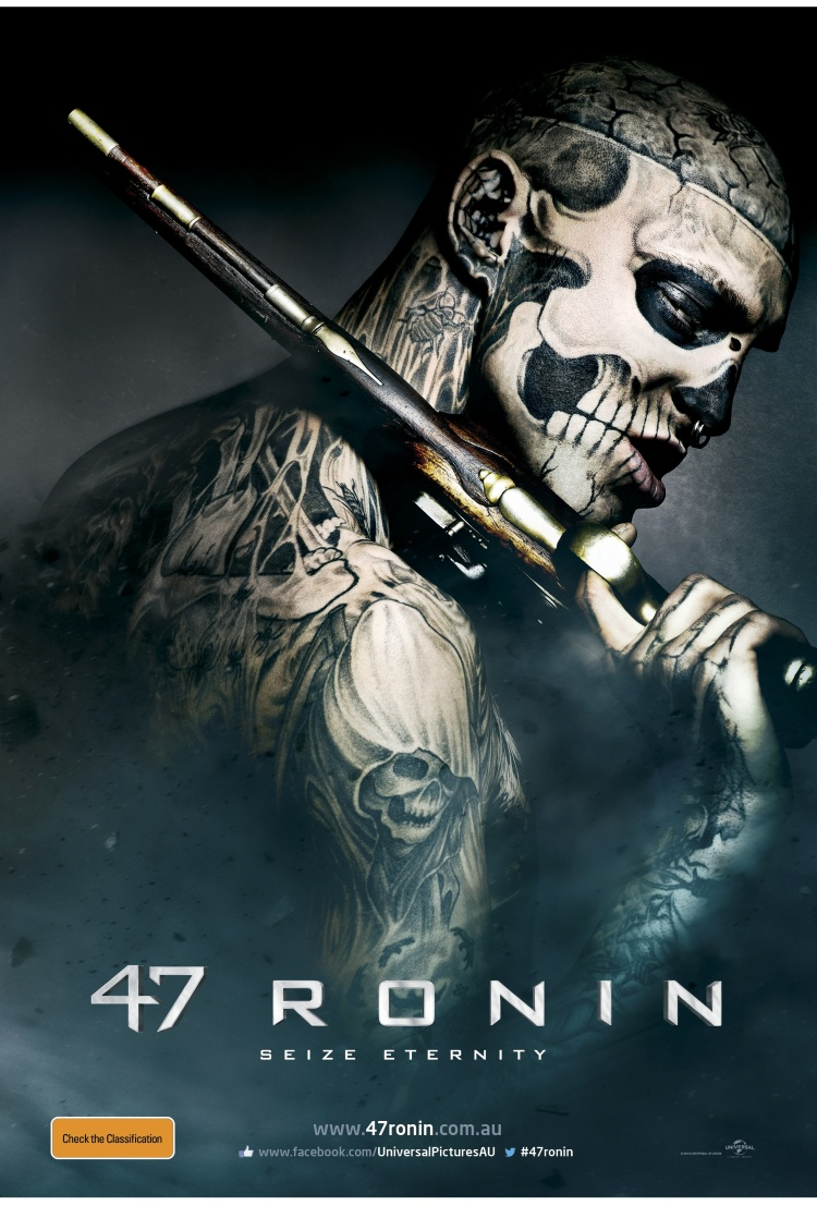 47Ronin_Skull_Key_Art. Courtesy Universal Pictures (Australia)