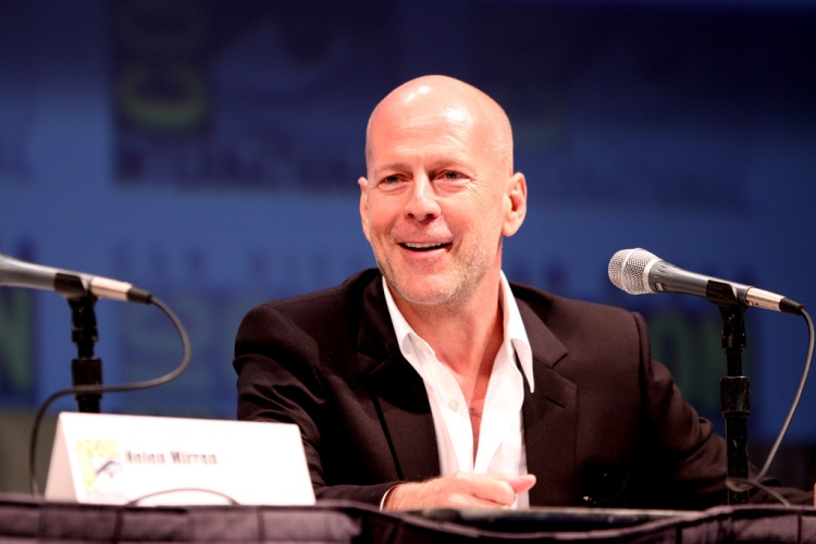 Actor Bruce Willis on the Red panel at the 2010 San Diego Comic Con in San Diego, California. LicenseSome rights reserved by Gage Skidmore