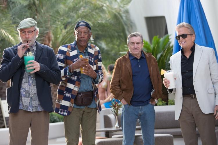 Last Vegas cast. Image Courtesy Universal Pictures (Australia)