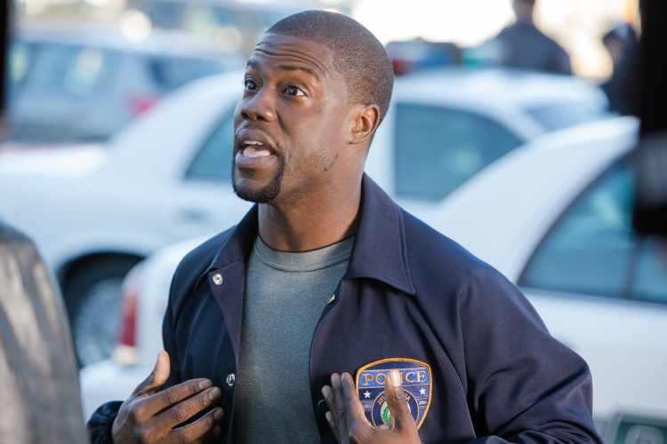 KEVIN HART as Ben Barber in Ride Along, the new film from the director and the producer of the blockbuster comedy Think Like a Man. Credit: Quantrell Colbert