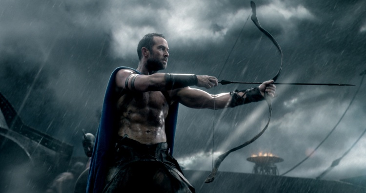 "Copyright: © 2014 WARNER BROS. ENTERTAINMENT INC. AND LEGENDARY PICTURES FUNDING, LLC. Photo Credit: Courtesy of Warner Bros. Pictures Caption: SULLIVAN STAPLETON as Themistokles in Warner Bros. Pictures' and Legendary Pictures' action adventure ""300: RISE OF AN EMPIRE,"" a Warner Bros. Pictures release."