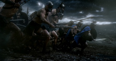"""Copyright: © 2014 WARNER BROS. ENTERTAINMENT INC. AND LEGENDARY PICTURES FUNDING, LLC. Photo Credit: COURTESY OF WARNER BROS. PICTURES Caption: A scene from Warner Bros. Pictures' and Legendary Pictures' action adventure """"300: RISE OF AN EMPIRE,"""" a Warner Bros. Pictures release."""
