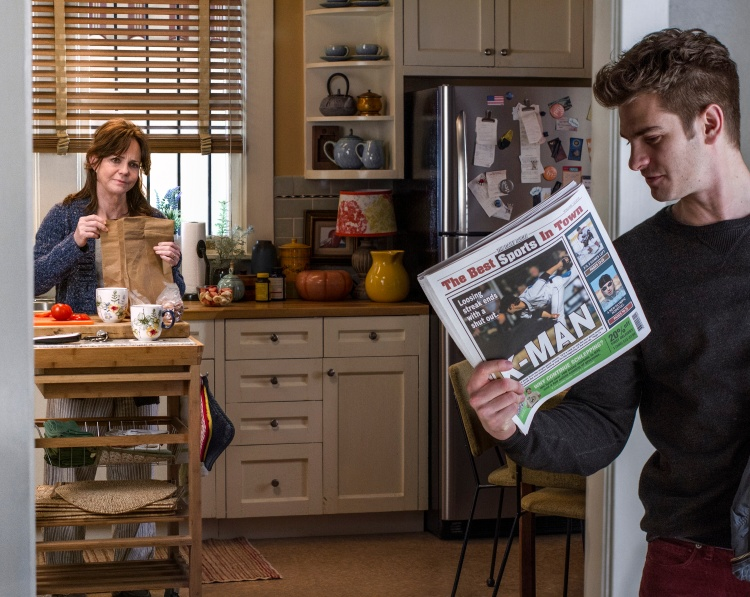 Sally Field and Andrew Garfield star in Columbia Pictures'