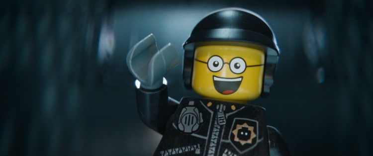 "LG-T3-0176 Film Name: THE LEGO® MOVIE Copyright: (C) 2014 WARNER BROS. ENTERTAINMENT INC. Photo Credit: Courtesy of Warner Bros. Pictures Caption: LEGO® minifigure Bad Cop/Good Cop (voiced by LIAM NEESON) in the 3D computer animated adventure ""The LEGO® Movie,"" from Warner Bros. Pictures, Village Roadshow Pictures and Lego System A/S. A Warner Bros. Pictures release."